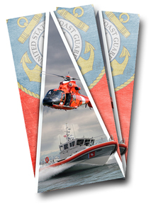 Coast Guard Cornhole Wrap